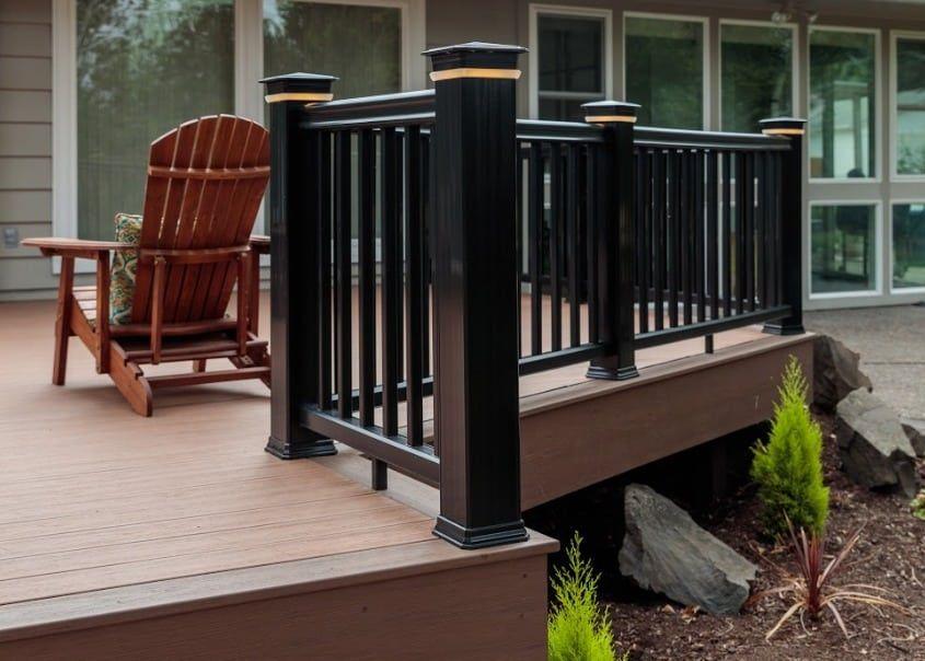 Pro Reserve Collection Timbertech In 2020 Deck Designs Backyard Deck Decks Backyard