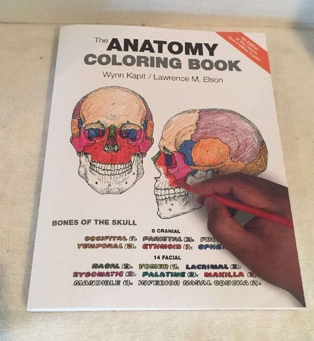 The Anatomy Coloring Book 4th Edition New Free Shipping 321832019 Ebay Anatomy Coloring Book Coloring Books Anatomy