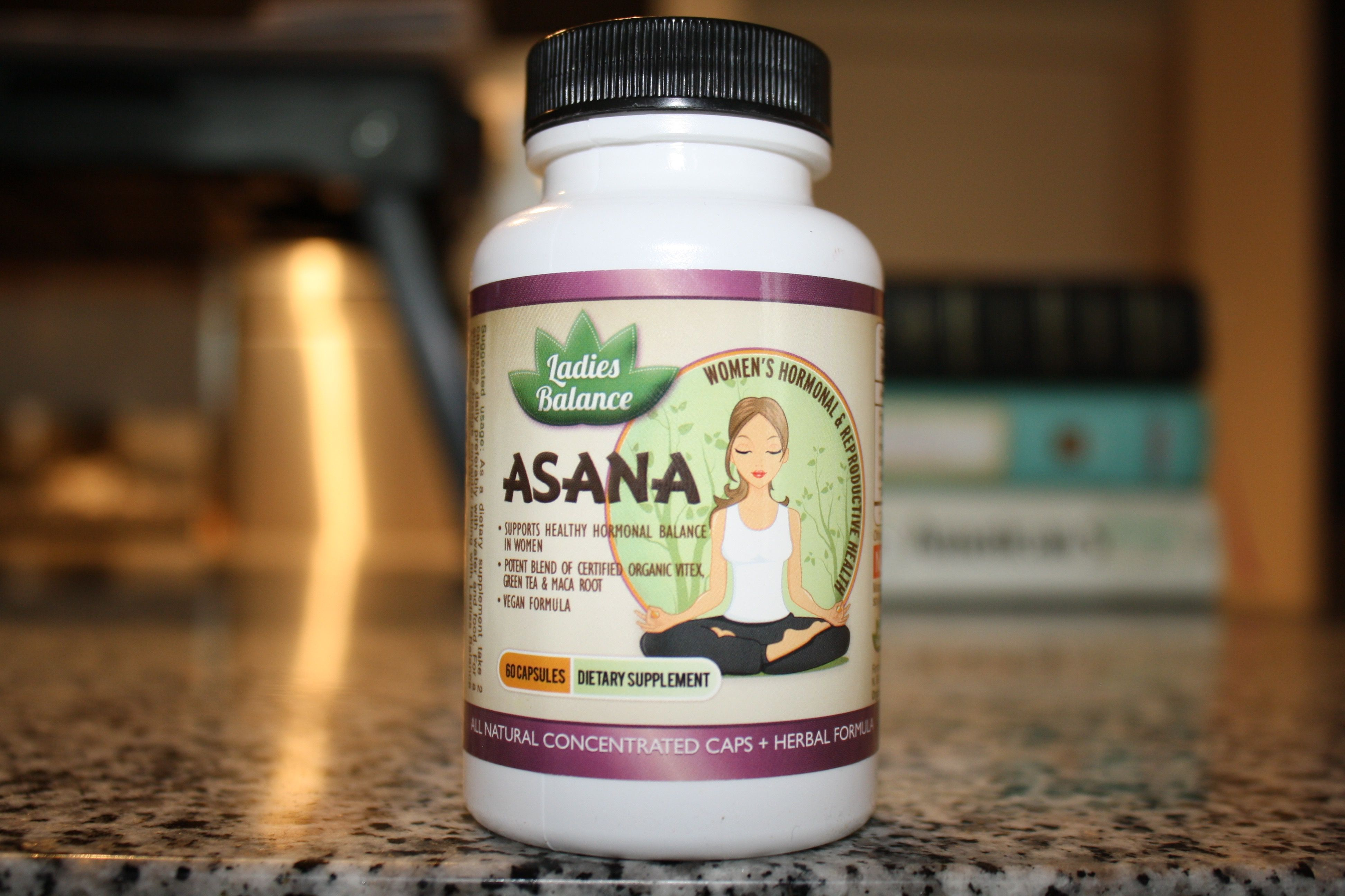 Asana by LadiesBalance women's health, beauty and menstrual cycle