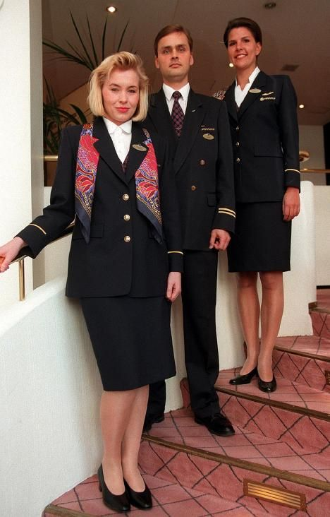 Finland 1997 Finnair Flight attendant costume (Photo Ilkka Ranta - air canada flight attendant sample resume