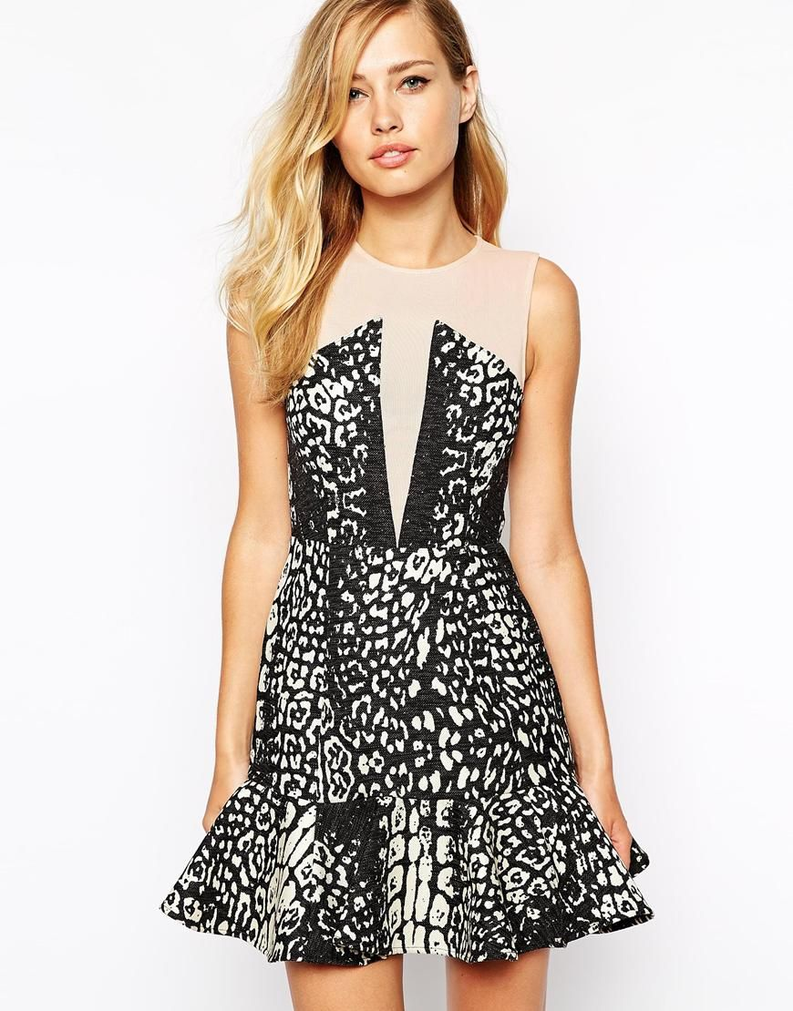Stylestalker animal print dress | She Got Style | Pinterest