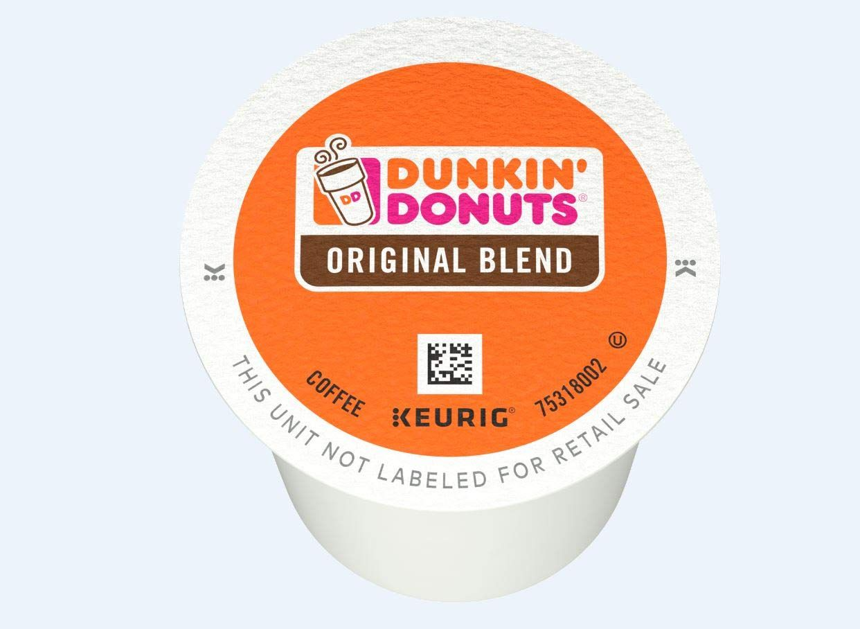Dunkin donuts coffee kcup pods 60count as low as 2195