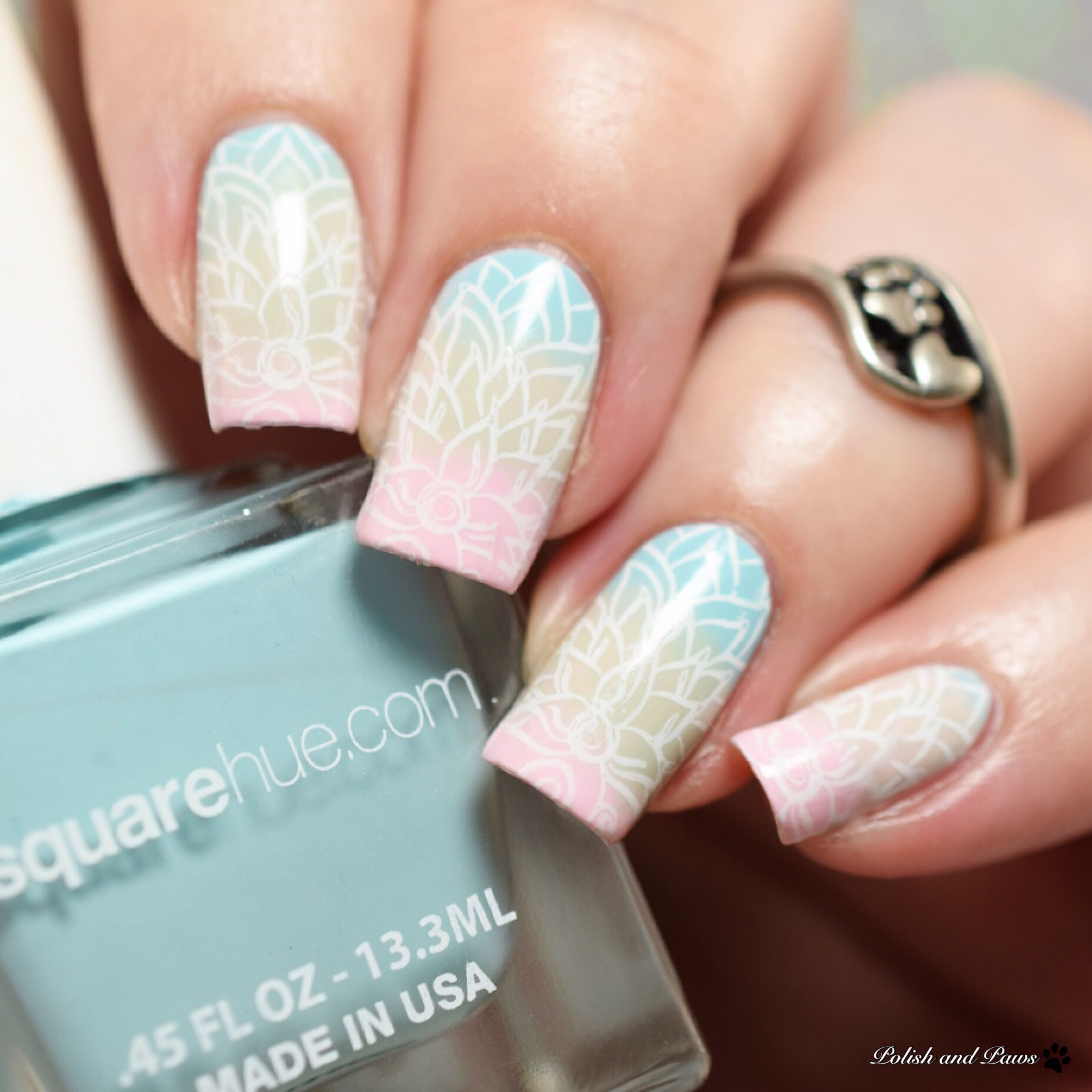 SquareHue Dance Collection Ballet Nail Art | Chalkboard Nails ...