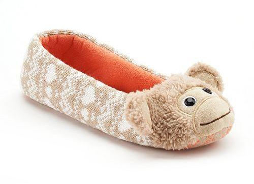 SO® Critter Ballerina Slippers - Women