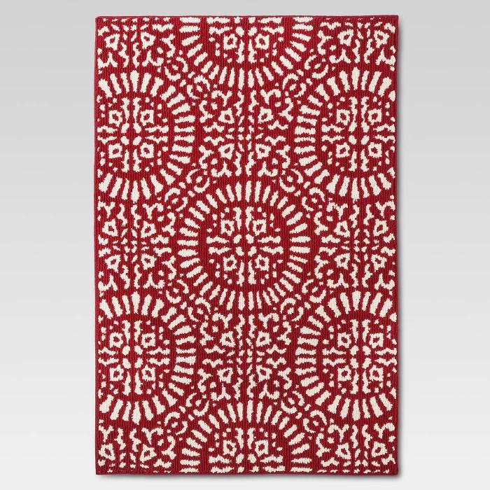 red medallion kitchen rug - threshold™ : target | kitchen