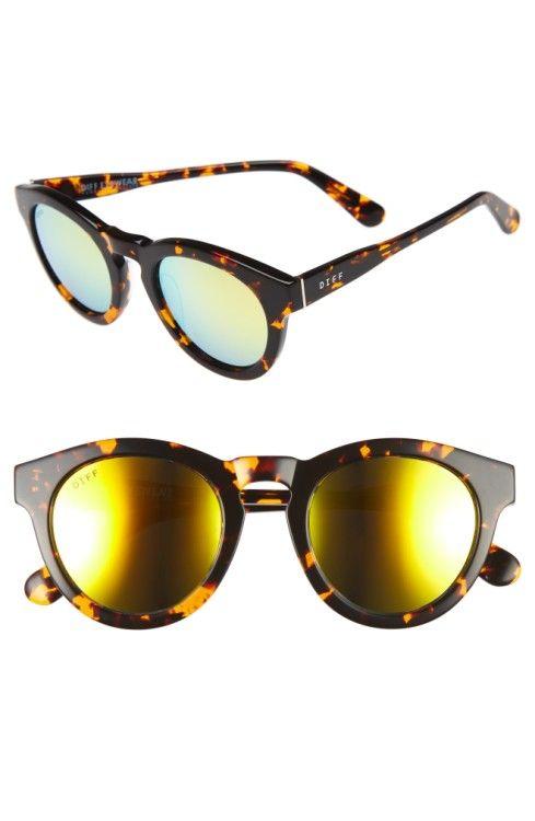 6a00b5eef7 DIFF Dime II 48mm Retro Sunglasses