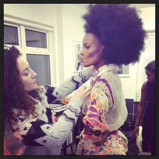 Shingai Shoniwa | 31 Celebrity Instagram Photos That Will Give You Natural Hair Envy