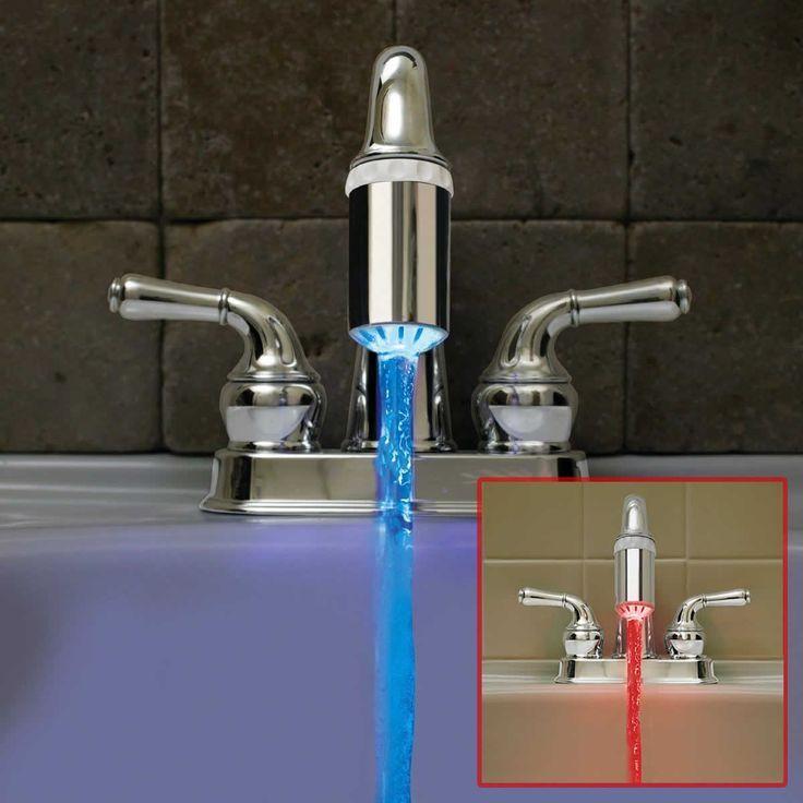 Led Faucet Light Led Faucet Faucet Sink Faucets