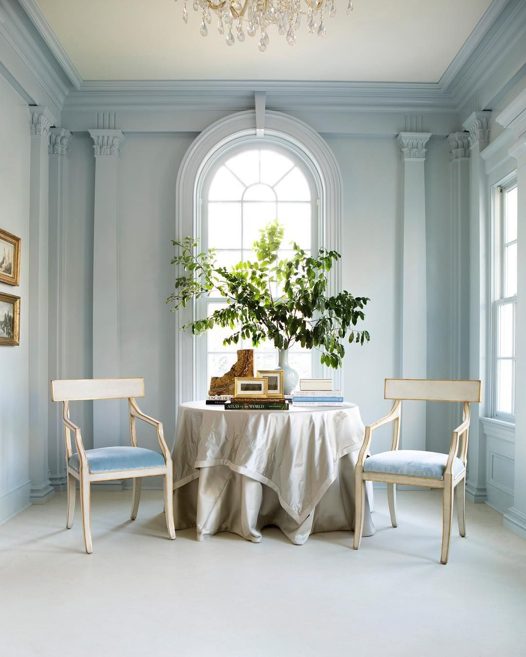 Pin On Color Inspiration #pale #blue #living #room