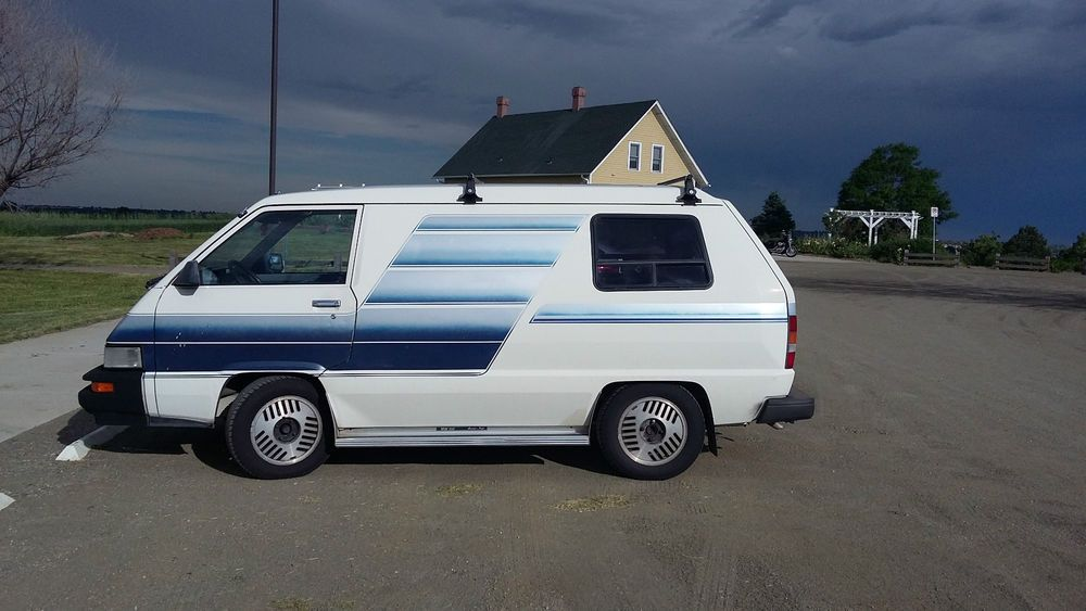 1986 toyota van wagon cargo camper conversion automatic 182k love to own pinterest toyota. Black Bedroom Furniture Sets. Home Design Ideas