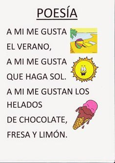 Resultado de imagen para poemas para niños
