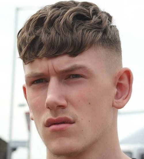 29 Wavy Hairstyles For Men 2018 | Short wavy hair, Short wavy and ...