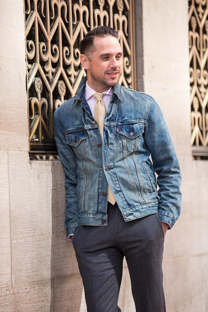 1000  images about Denim Jacket on Pinterest | Instagram Men&39s