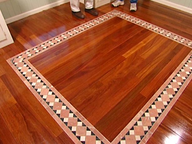 How to install a mixed media floor flooring options for Unusual flooring materials