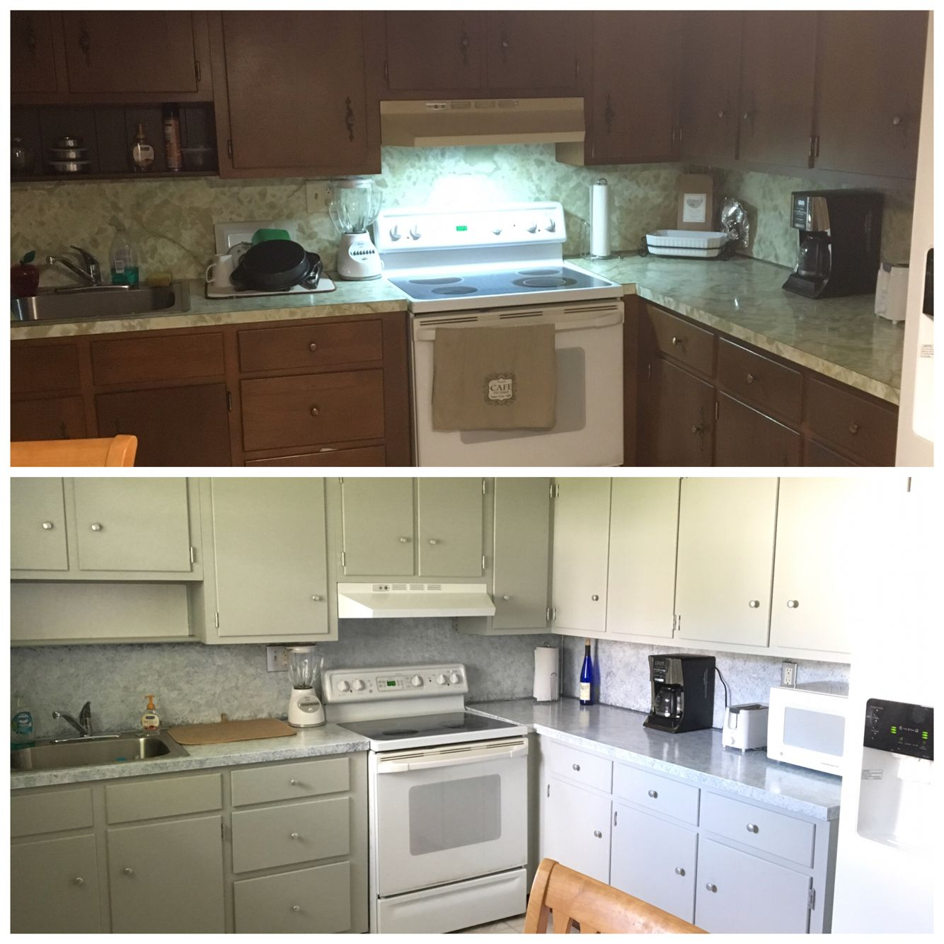 Kitchen Cabinets Make Over