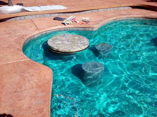 Swimming Pool Swim Up Bar   New Swimming Pool Table Top