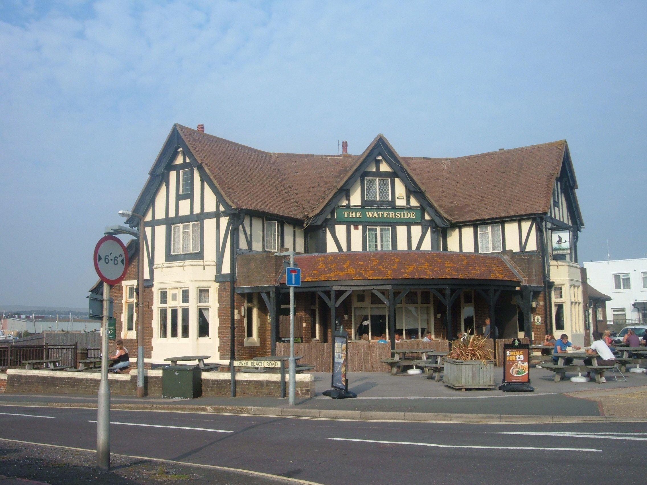 11.The Waterside, Shroreham-by-Sea. option 2, Janet Cameron