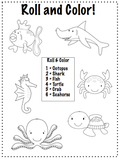 crazy speech world some thoughts ocean animals freebie 4 b activities to print and play. Black Bedroom Furniture Sets. Home Design Ideas