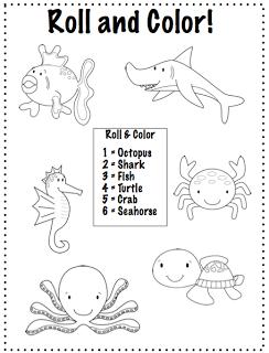 Crazy Speech World: Some Thoughts & Ocean Animals {Freebie