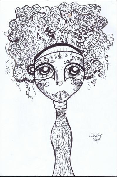 Ely Lugo   Recycled (Ink) / Reciclada (Tinta)