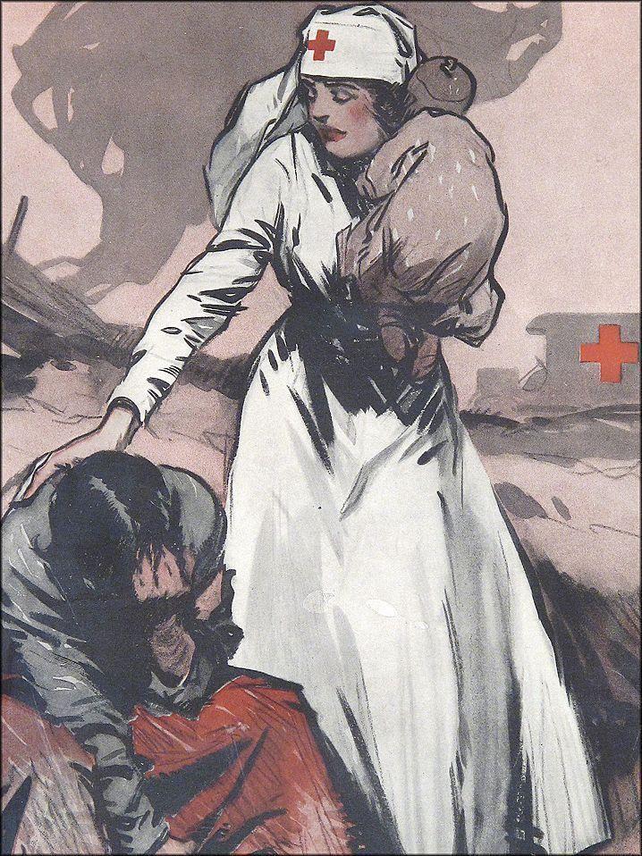 Медсестра на войне рисунки