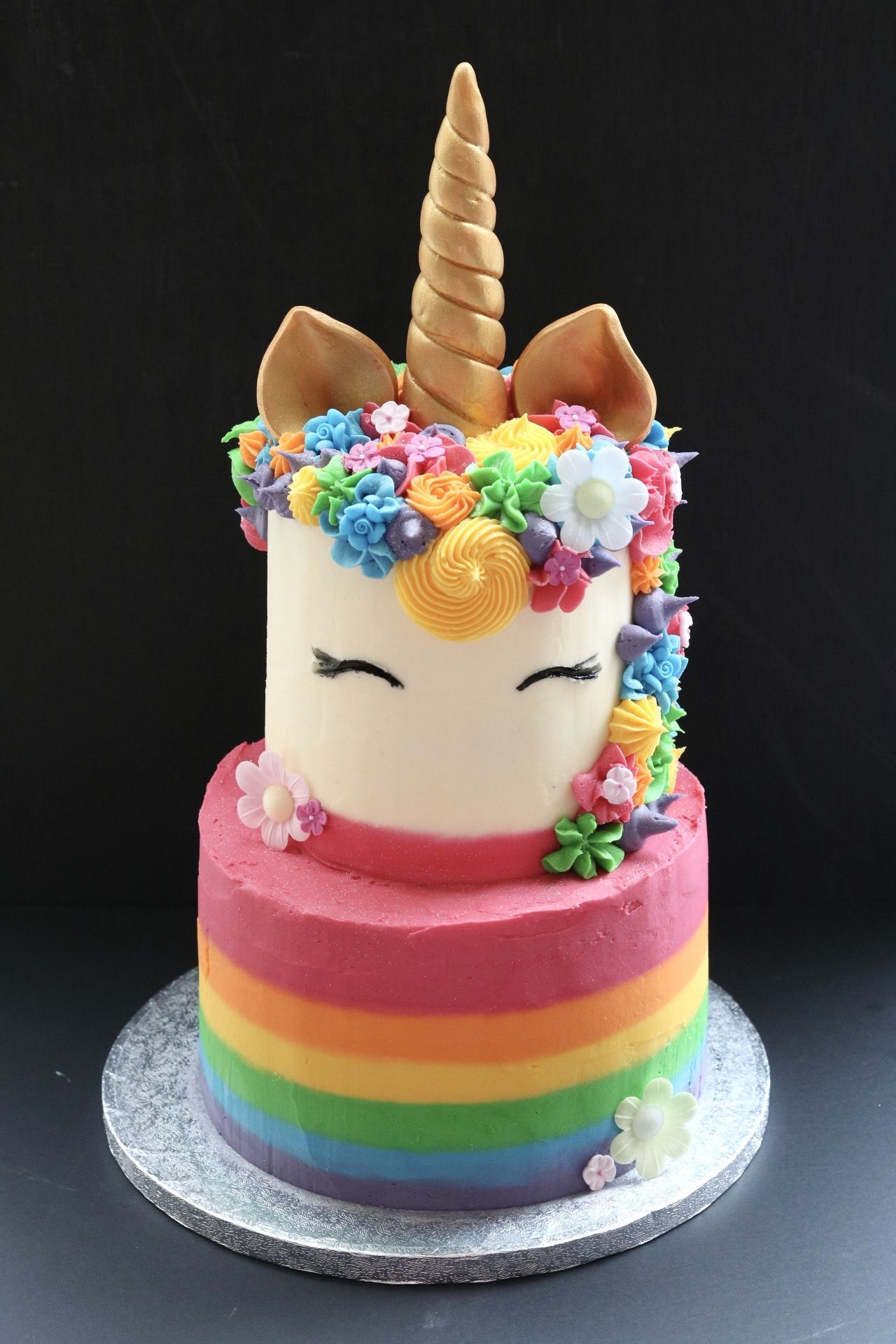 Rainbow Unicorn Cake Birthday Cakes For Teens Teen