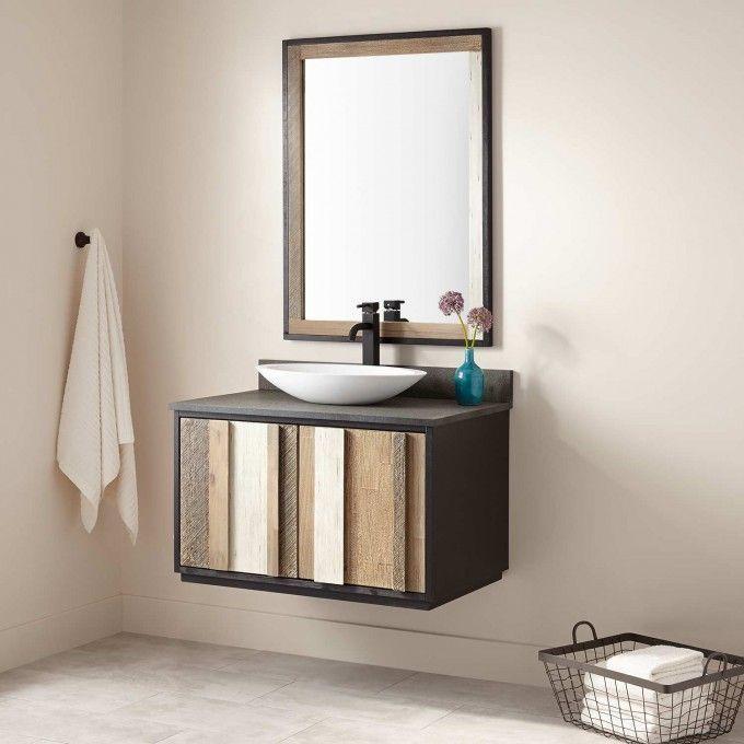 36 Arner Wall Mount Vessel Sink Vanity In 2018 Bathroom Sinks