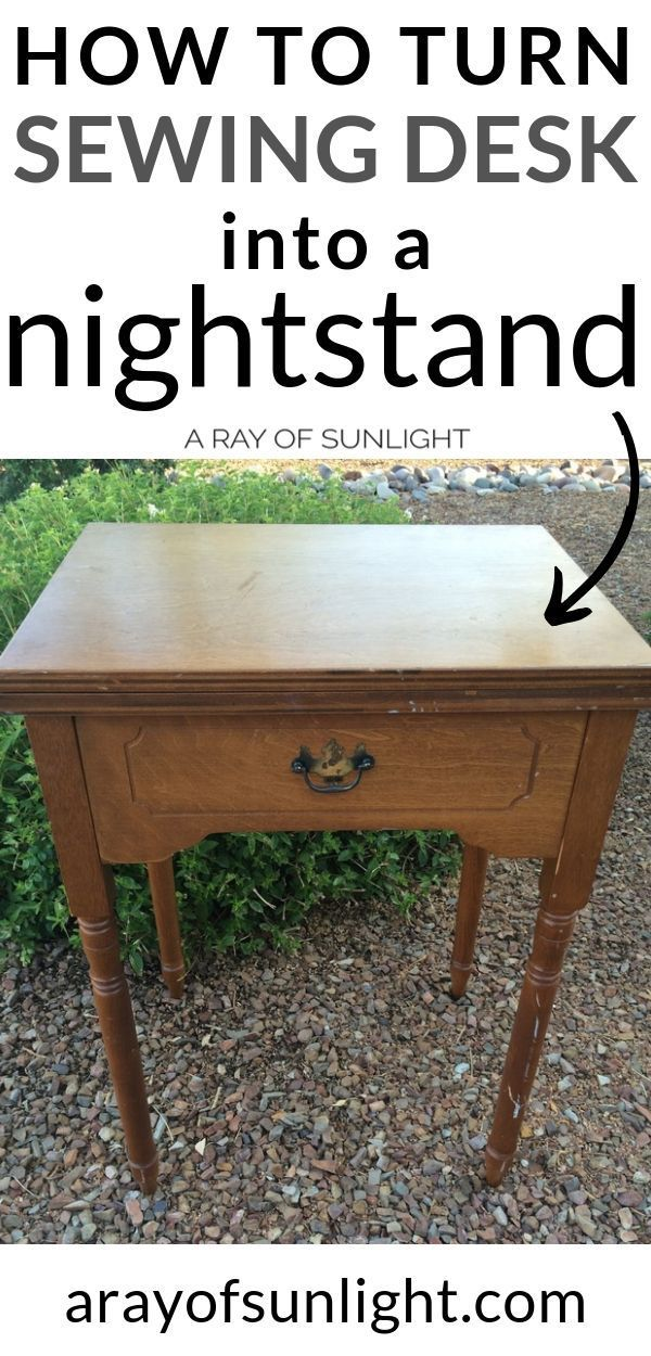 A Sewing Desk and Milk Paint - A Ray of Sunlight #furnitureredos