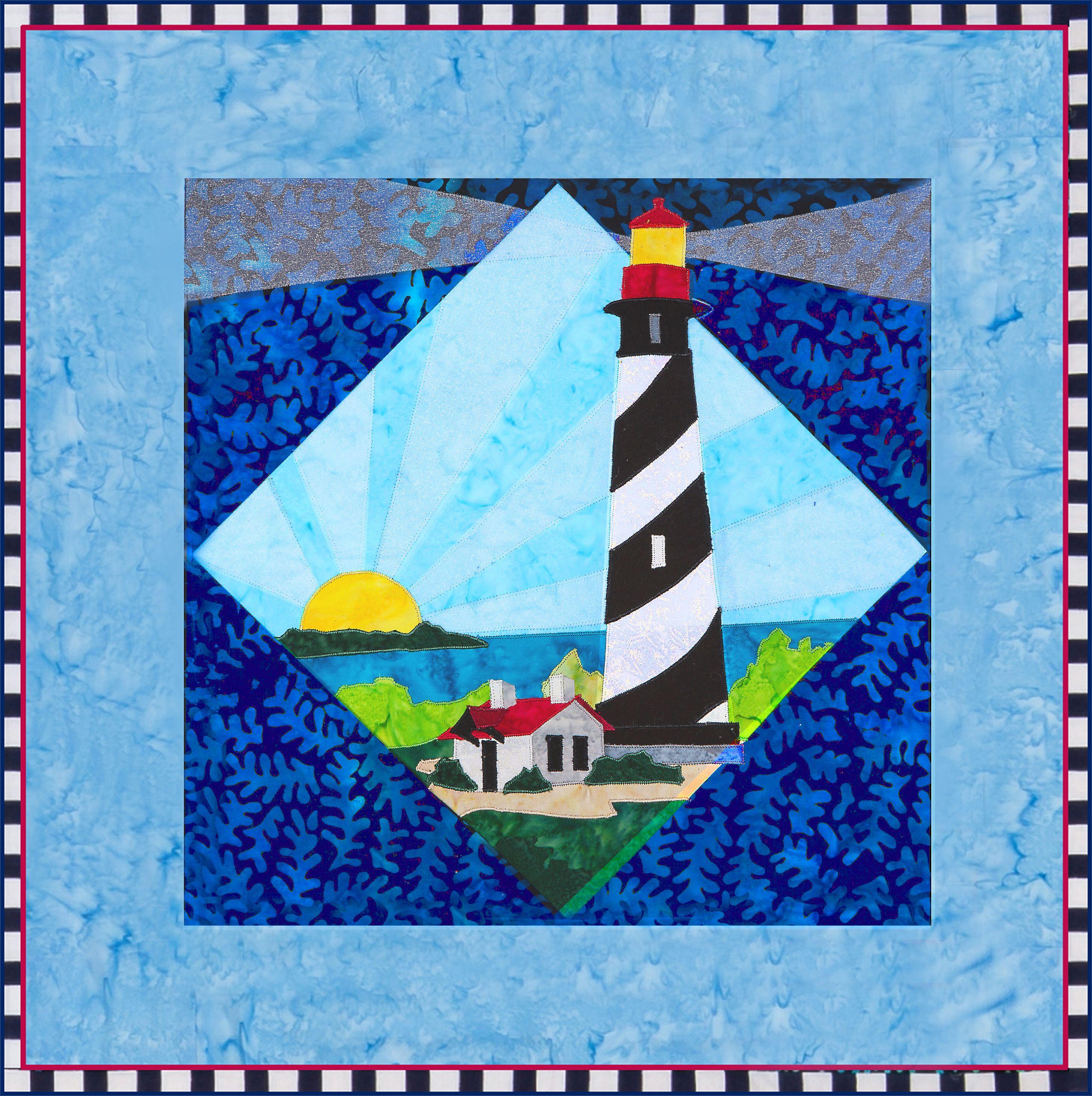 St Augustine Light Quilt Pattern By Debra Gabel Of Zebra Patterns