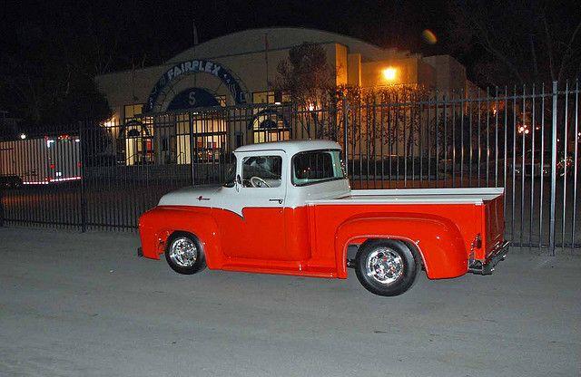 1956 Ford F100 1956 Ford Truck Cool Trucks Classic Trucks