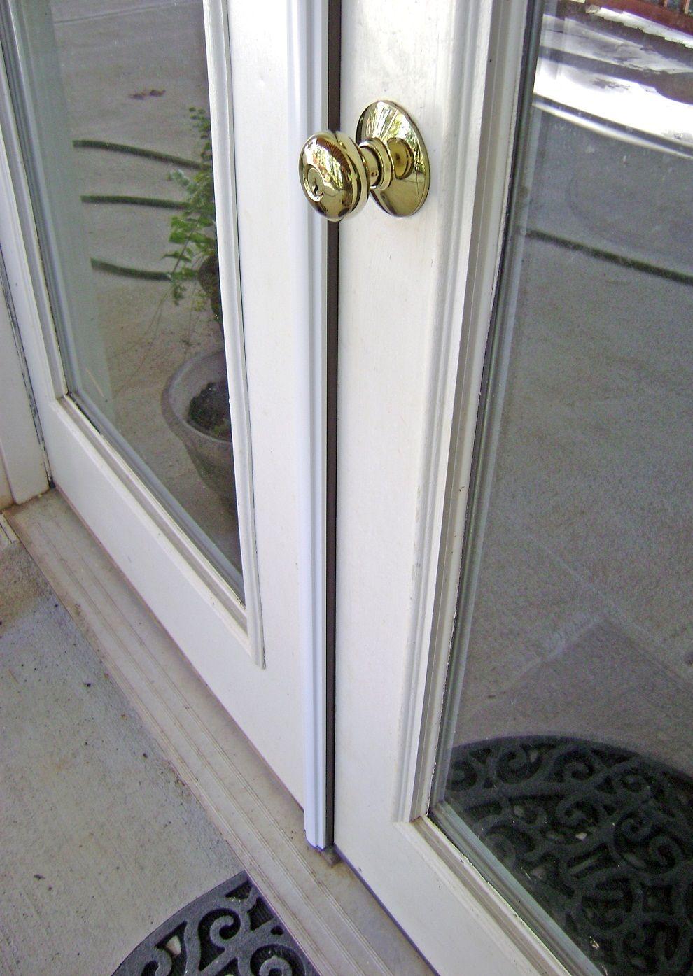 Gap Between French Doors