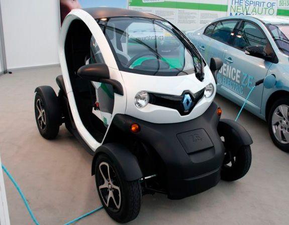 Renault Twizy - Salón del Automóvil Ginebra 2012.