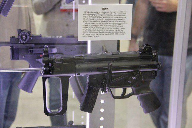 Prototype MP5K