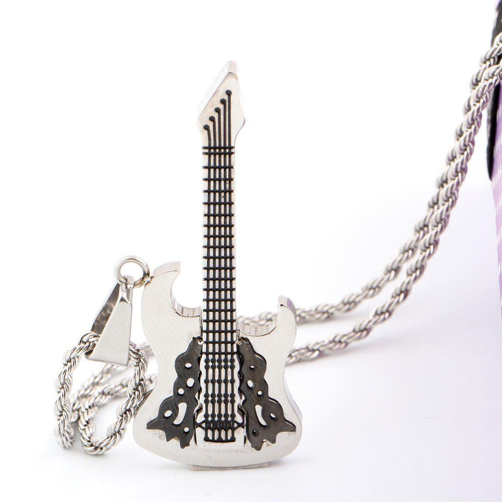 The Rockstar Guitar Necklace