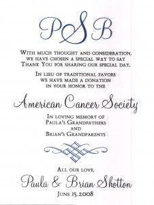 AmericanCancerSocietyDonationCard
