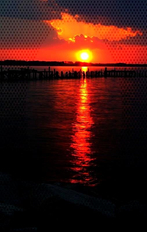 Photo Some Favorite Sunrises and Sunsets - Photographer: Thomas E. Di... -Reflecting Photo Some Fav