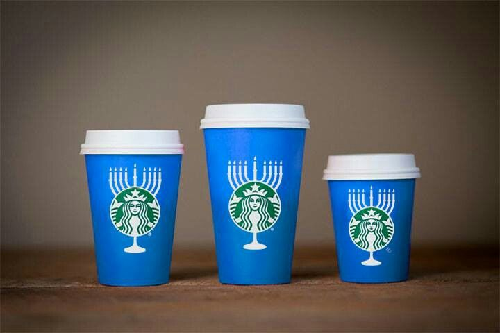 The Starbucks Blue Cup. It's beautiful.