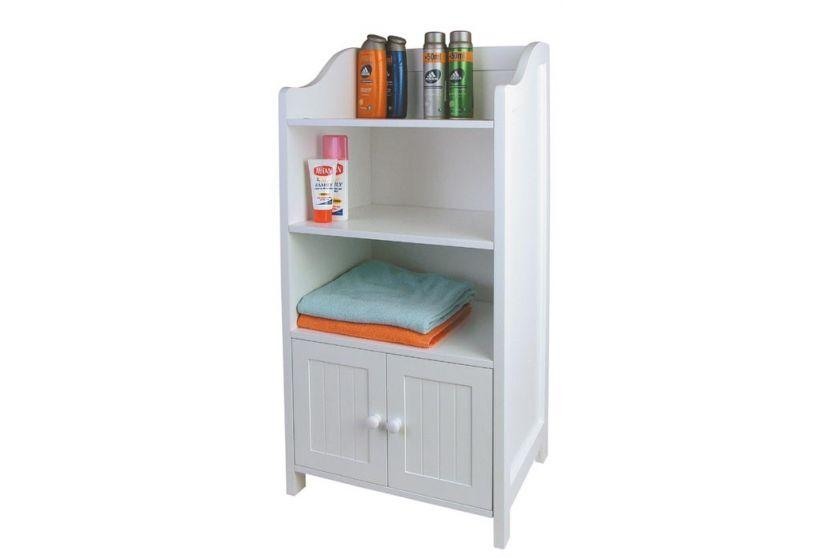 Schrank Badezimmerschrank Badschrank, weiß, 86x41cm