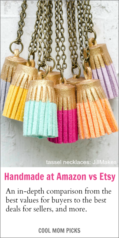 Handmade at Etsy vs Amazon: Everything you need to know from the best deals for buyers to the best deals for sellers | CoolMomPicks