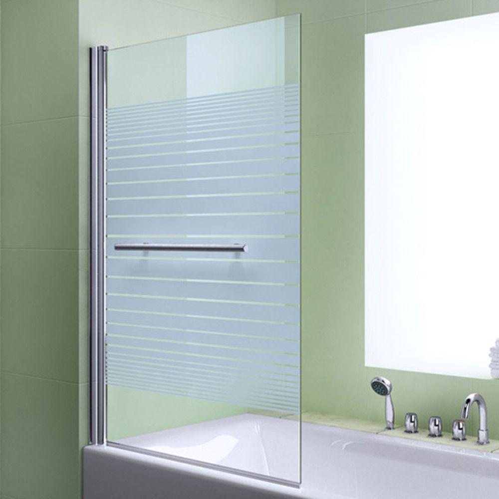 Duschabtrennung Badewannenfaltwand Esg Nano Glas Glaswand