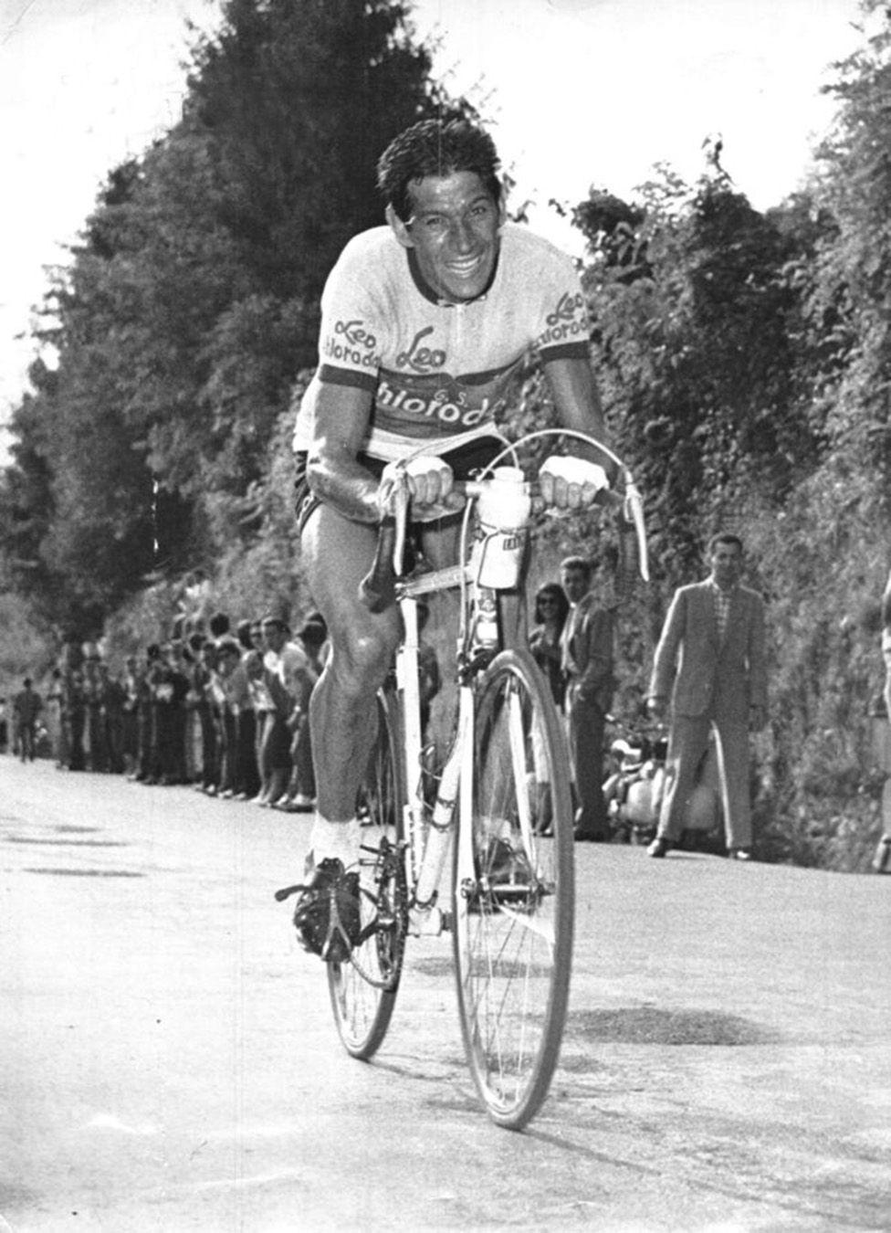 Gastone NENCINI Bicicletta, Tour de france e Corse