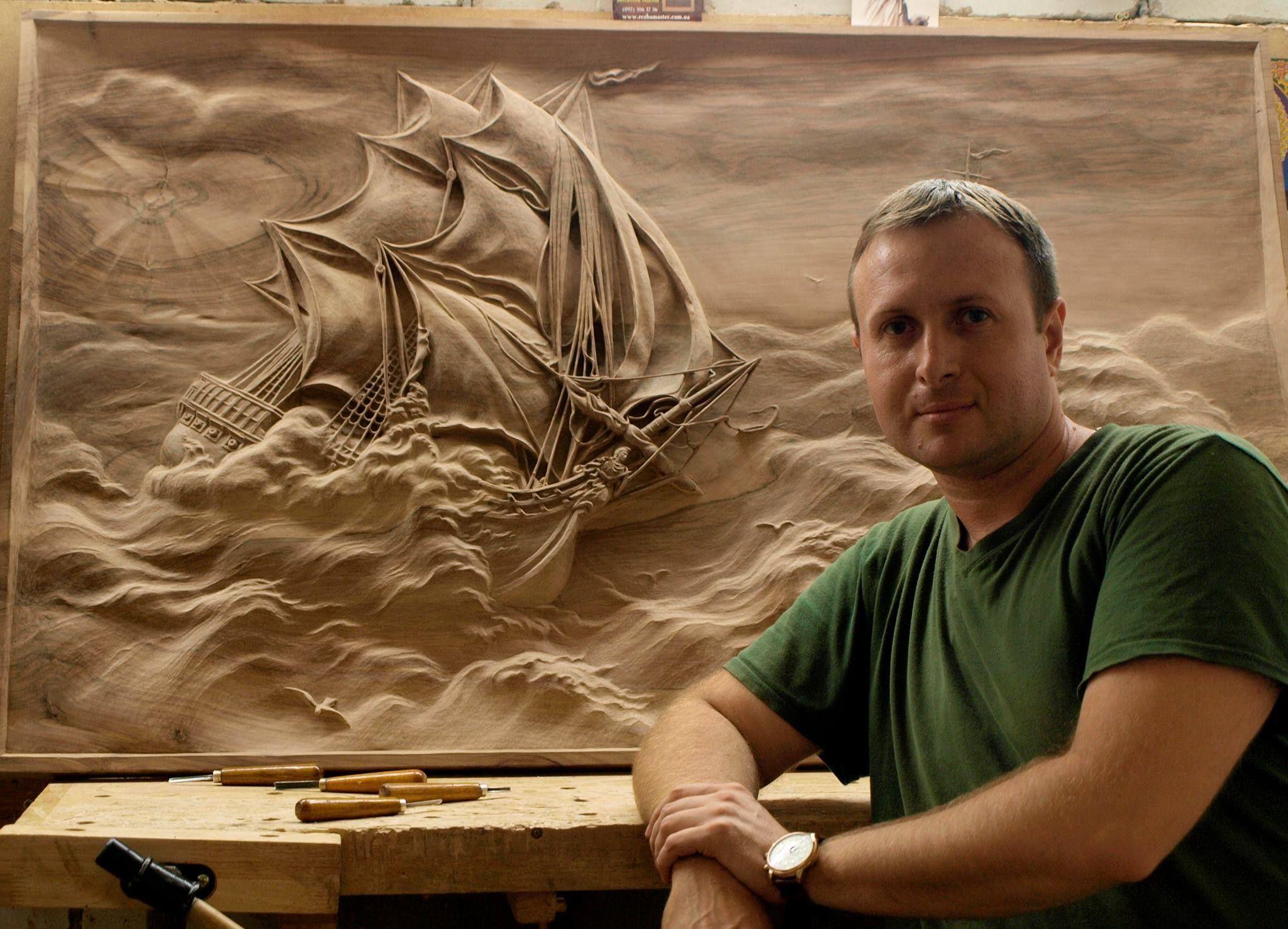 Мировые Виртуозы РЕЗЦА и КИСТИ vk carvings pinterest wood