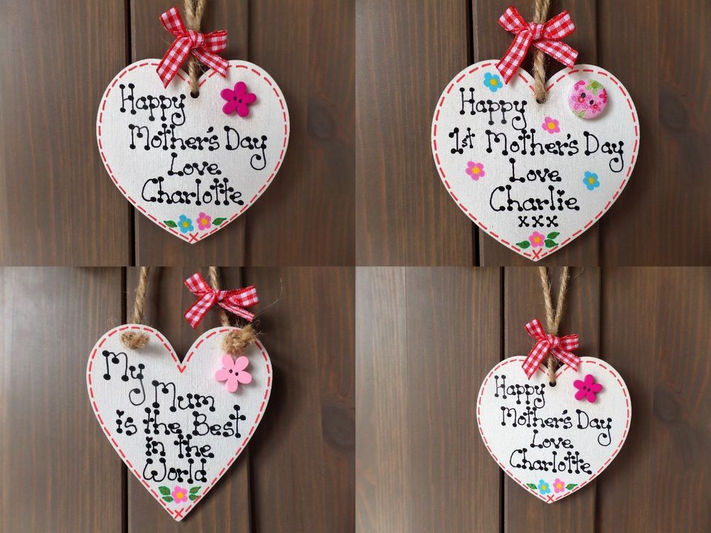 Details About Personalised Mothers Day Mum Nan Gran Mummy Wooden
