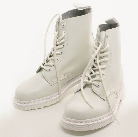 dr marten all white | S H O E S | Pinterest | Dr martens, Shoe ...