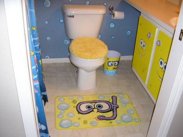 Spongebob Bathroom Ideas Spongbob Bathroom Kids