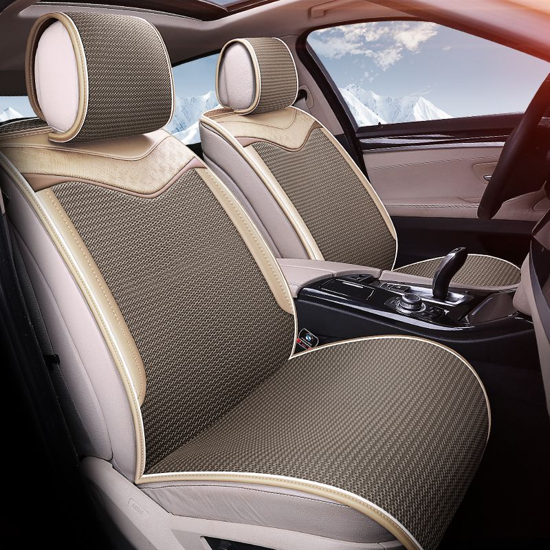Breathable cool car cushions free bundle car seat cover
