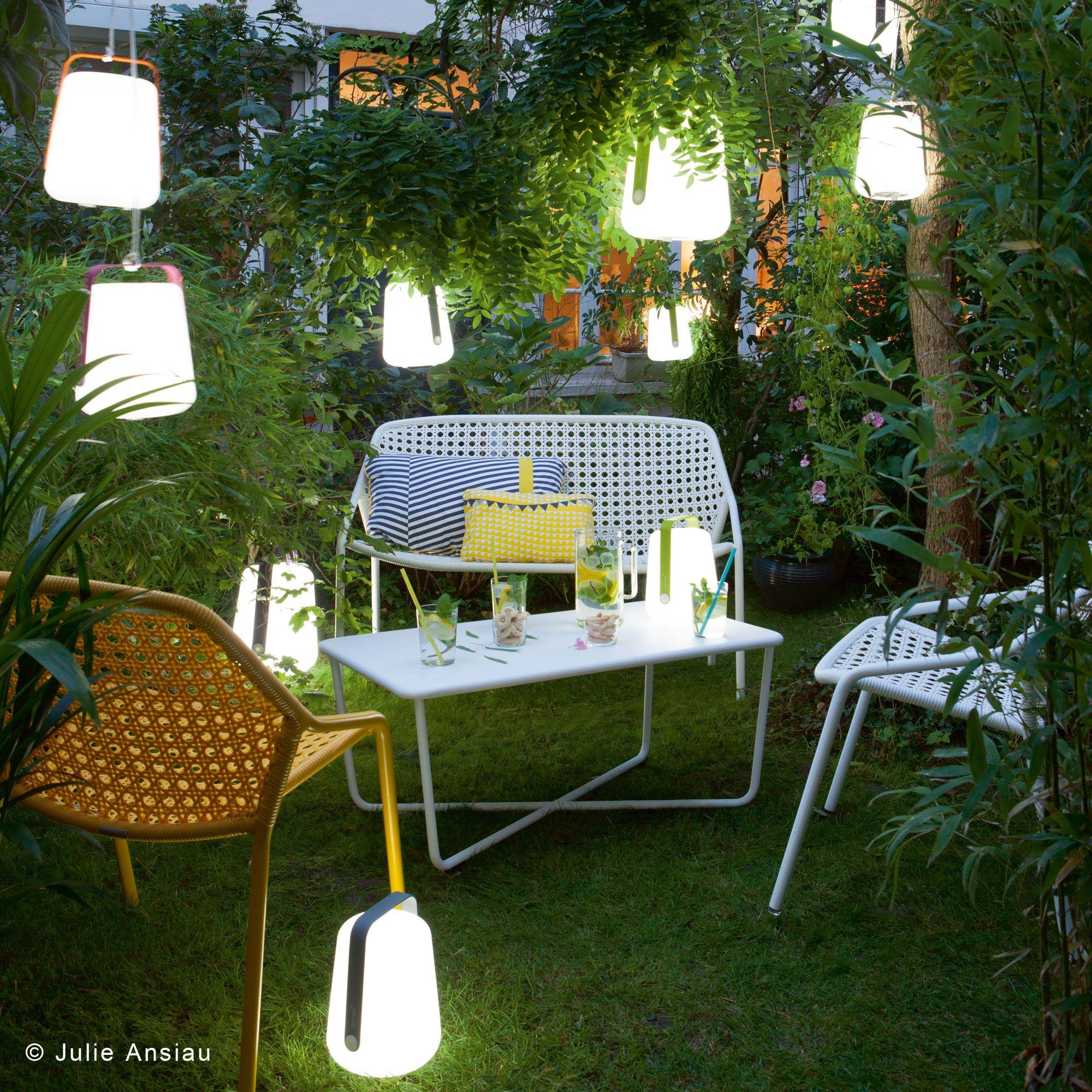 Fermob BALAD - Lampe nomade LED d\'extérieur Verveine H25cm | Déco ...