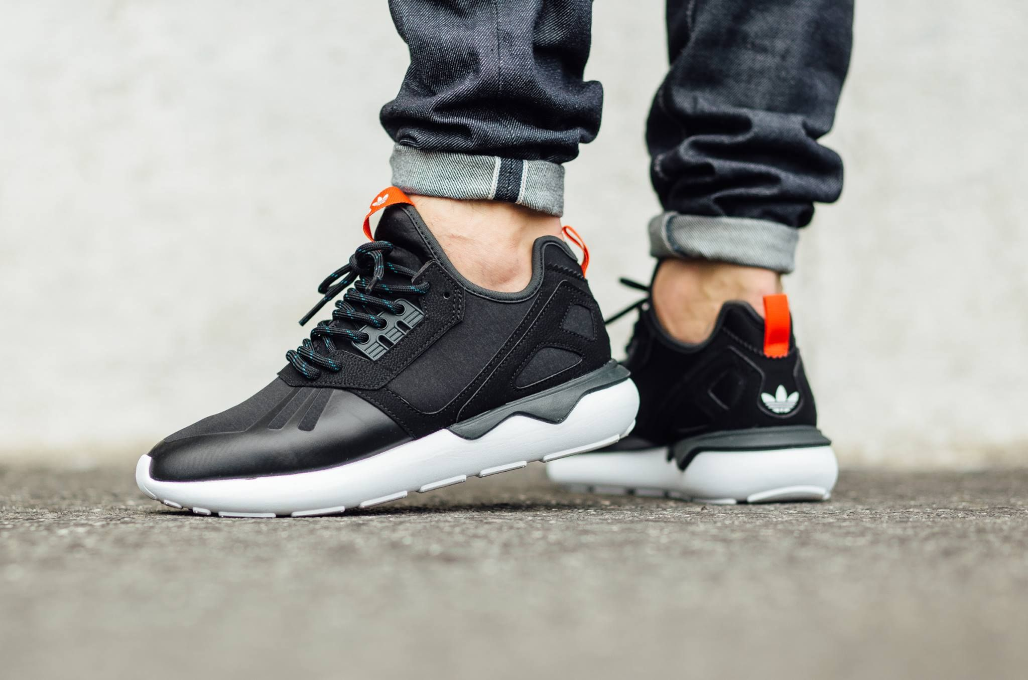 Adidas Tubular Runner (Core Black, Petrol & Off White) End