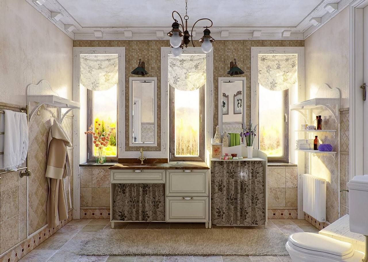 Il bagno in stile provenzale: 15 splendide idee per ispirarvi