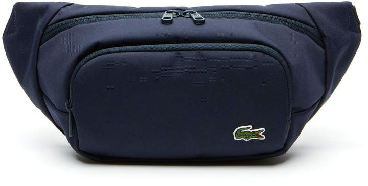 White Daisy Sport Waist Bag Fanny Pack Adjustable For Run